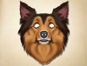 Sheepdog Mask