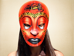 Achieng African Mask