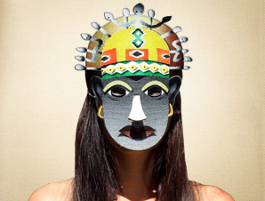 Abimbola African Mask