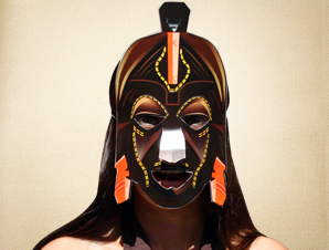 Chilongola African Mask