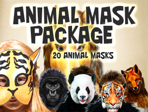 Animal Mask Package