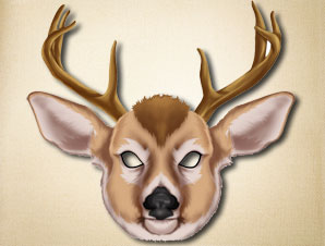 Printable Deer Masks http://www.the-printable-mask-shop.com/deer-mask/