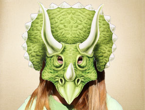 image relating to Dinosaur Mask Printable identified as Triceratops Mask The Printable Mask Retail store