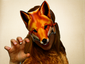 Unpredictable Fox Mask