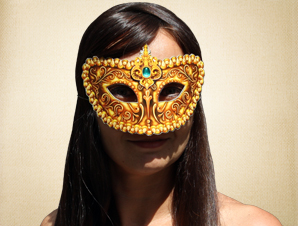 Masquerade Mask of Gold