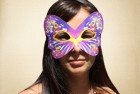 Bright Purple Masquerade Mask