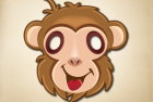 Kids Goofy Monkey Mask