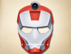picture relating to Iron Man Mask Printable identified as Iron Gentleman Mask The Printable Mask Keep