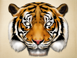 It is a graphic of Geeky Tiger Mask Printable