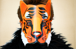 Detailed Tiger Mask