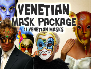 Venetian Mask Package