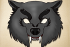 Dangerous Knarling Wolf Mask